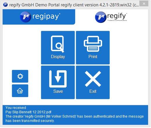 regify - regipay